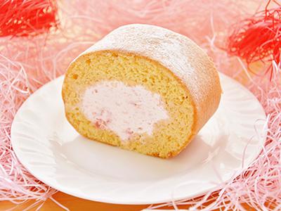 つまんでご卵ケーキ工房 苺クリームロール