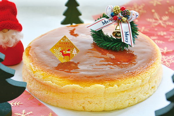 つまんでご卵ケーキ工房クリスマスケーキ チーズケーキ