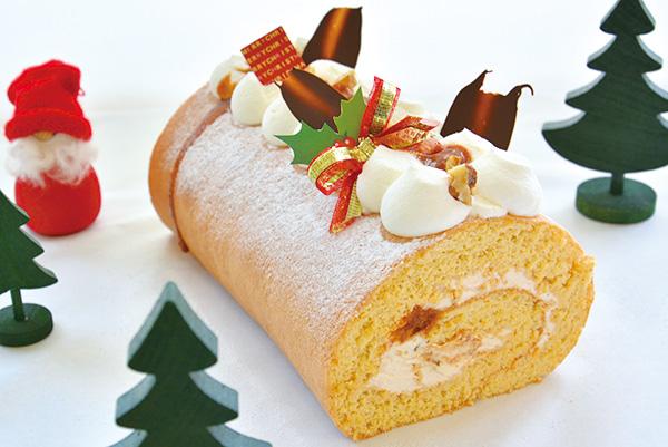 つまんでご卵ケーキ工房クリスマスケーキ 塩麹キャラメルノエル